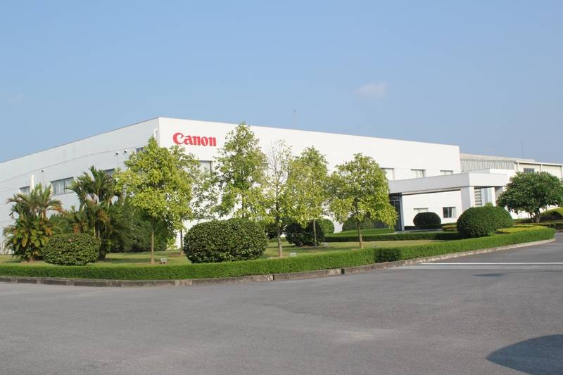 Maintenance project for Canon factory