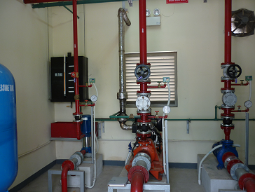 Shikohu Project – Installing of Fire-fighting pump system and Booster pump system